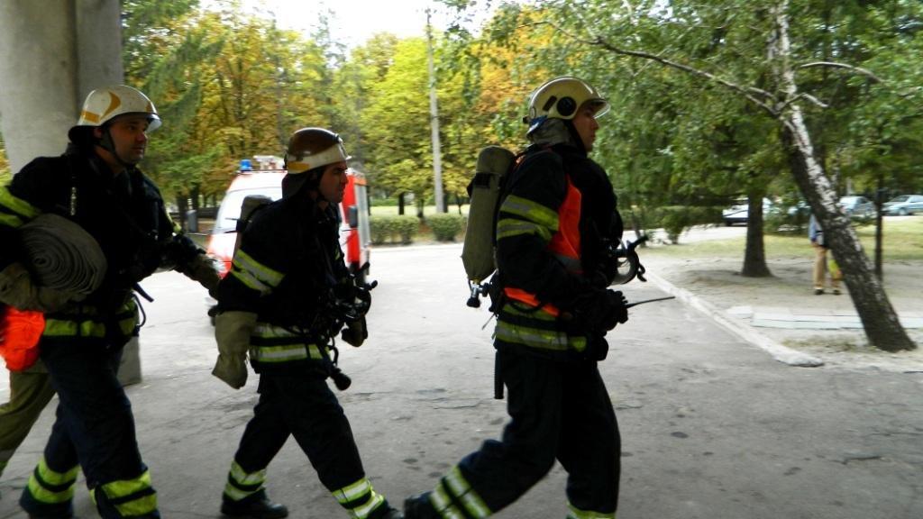 В Каменском «тушили» больницу №7, фото-5