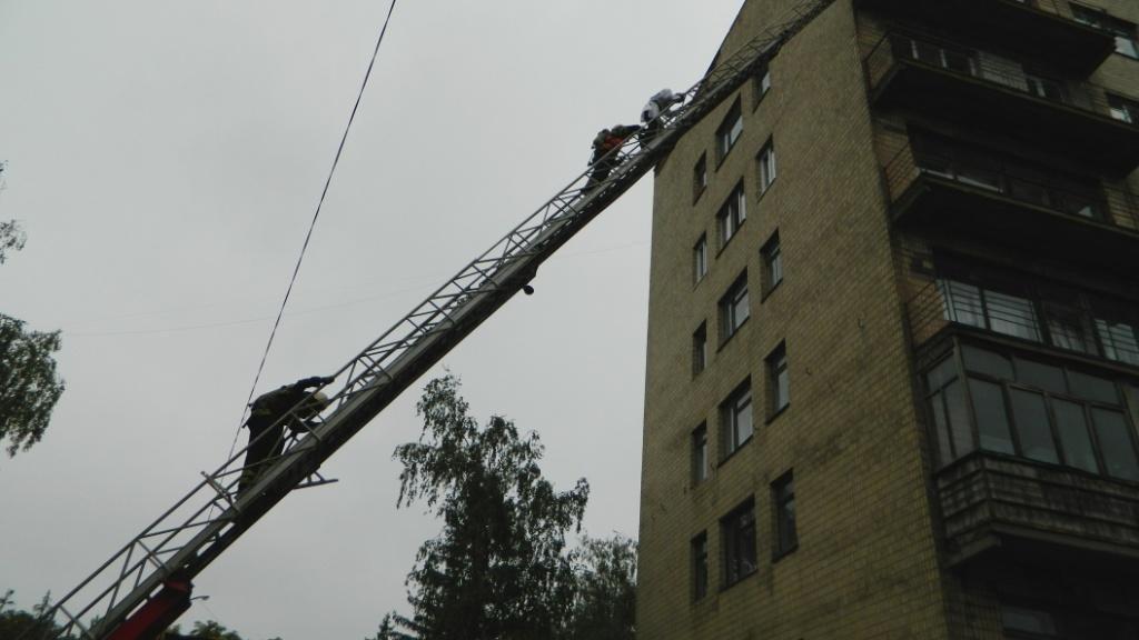 В Каменском «тушили» больницу №7, фото-9
