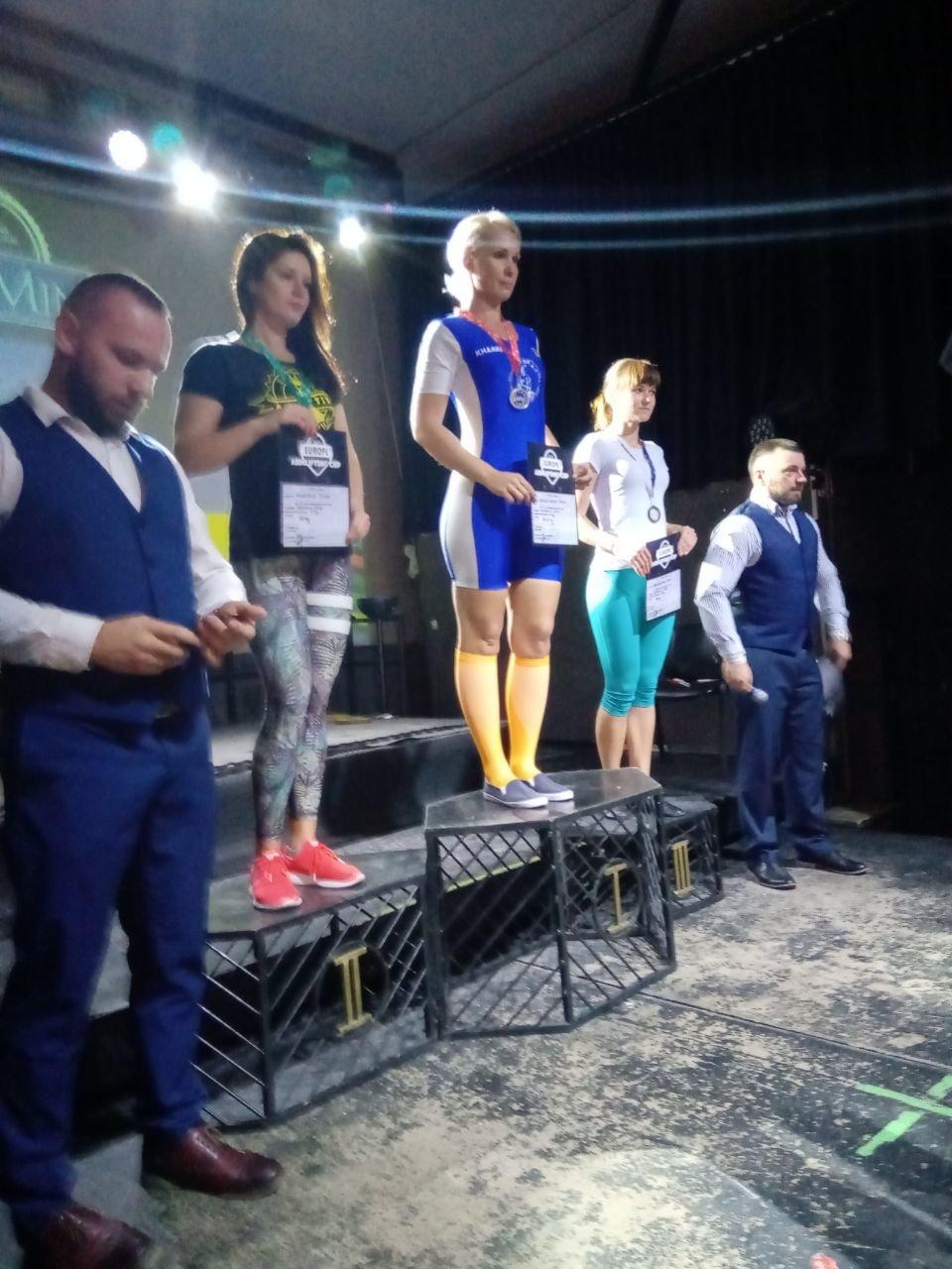 Установила три мировых рекорда: каменчанка стала четырехкратной чемпионкой Кубка Европы поармлифтингу, фото-5