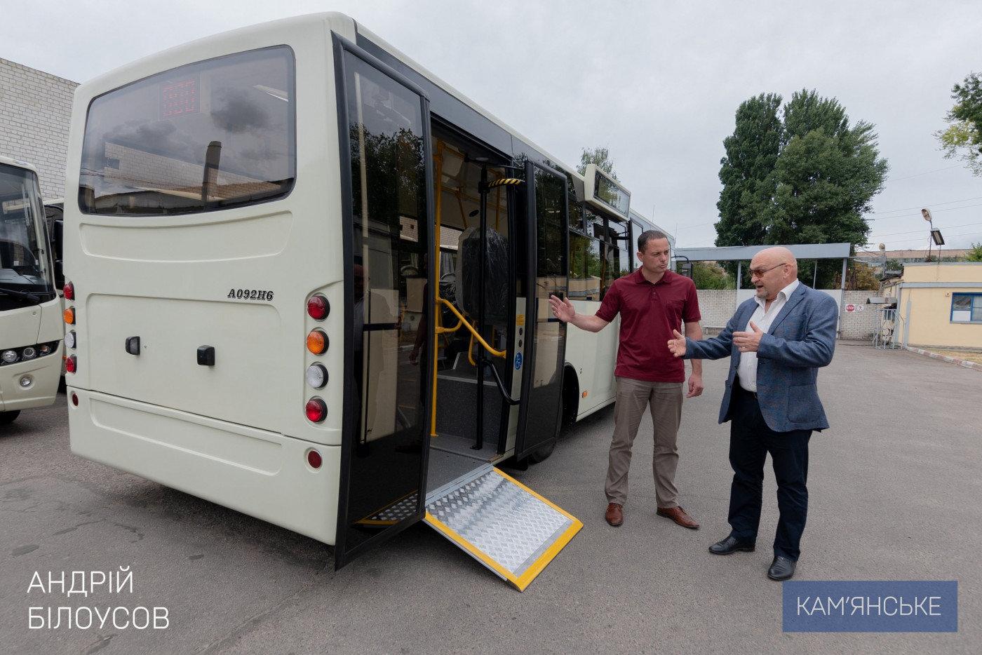 Завтра  в Каменском презентуют новые автобусы, фото-2
