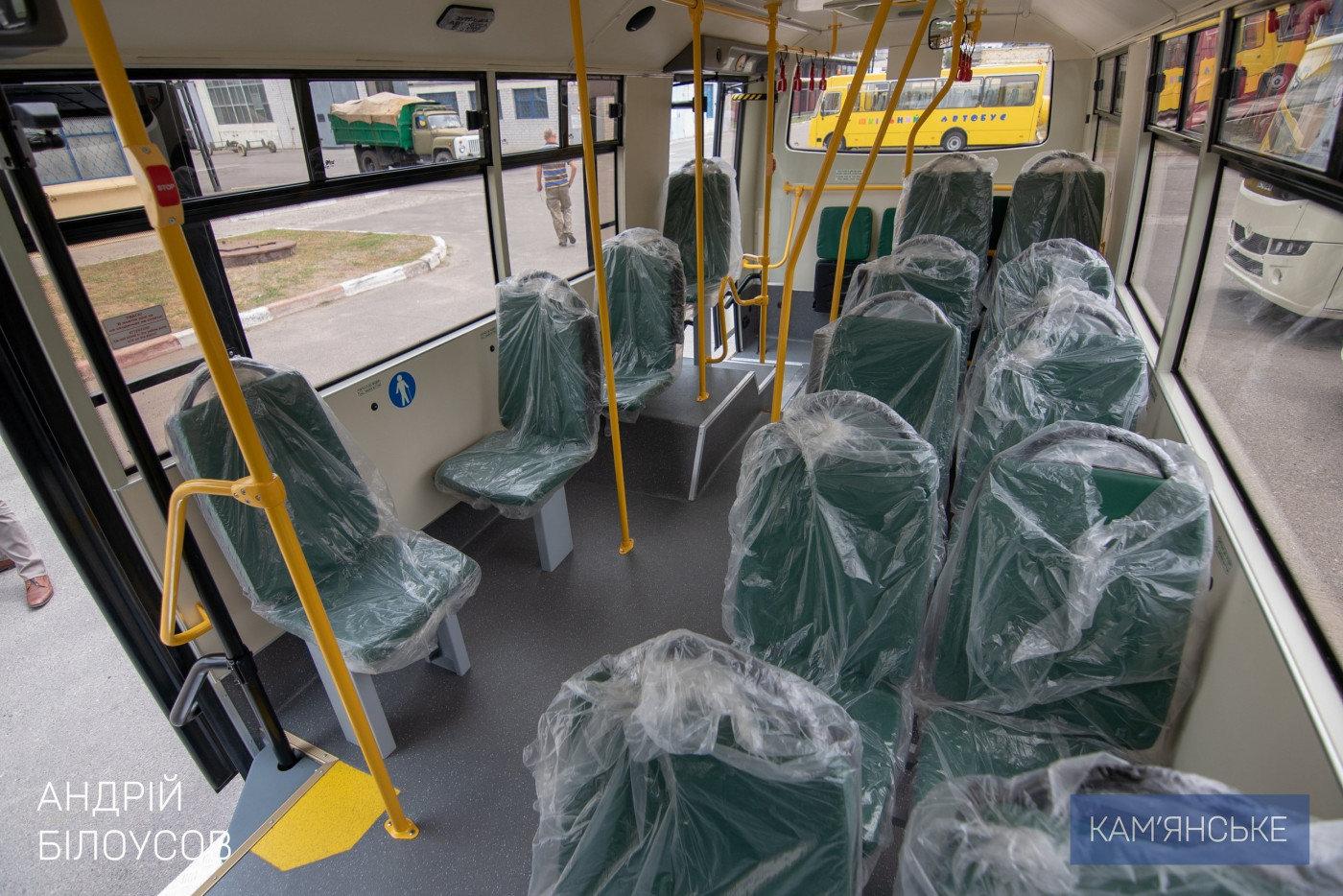 Завтра  в Каменском презентуют новые автобусы, фото-1