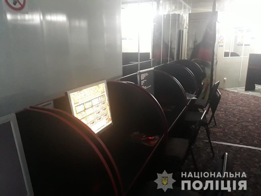 На левобережье Каменского закрыли незаконный игорный зал, фото-3
