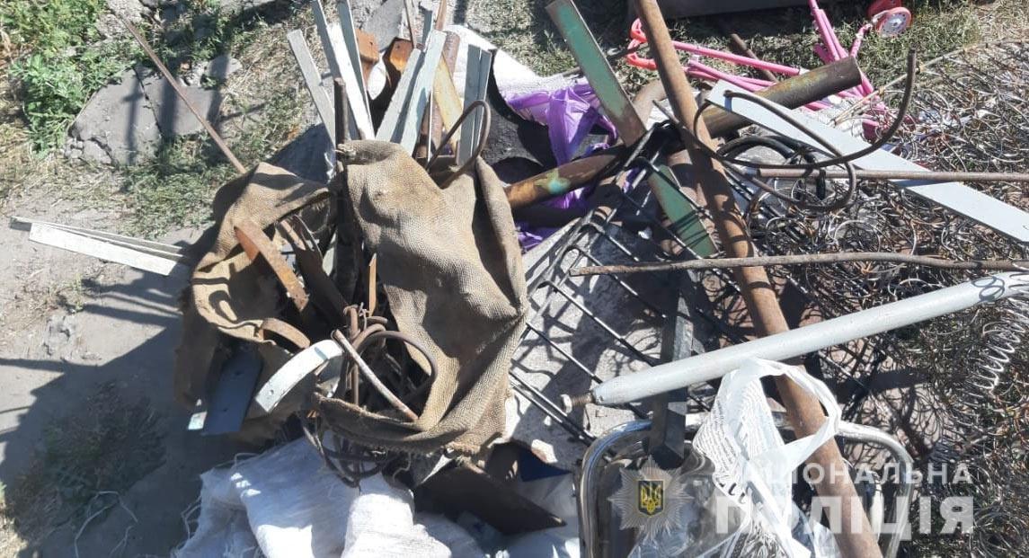 В Каменском закрыли очередную приемку металлолома, фото-1