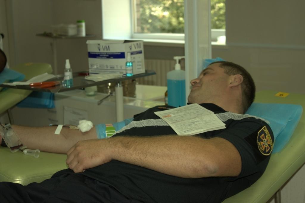 Спасатели Каменского сдавали кровь, фото-3