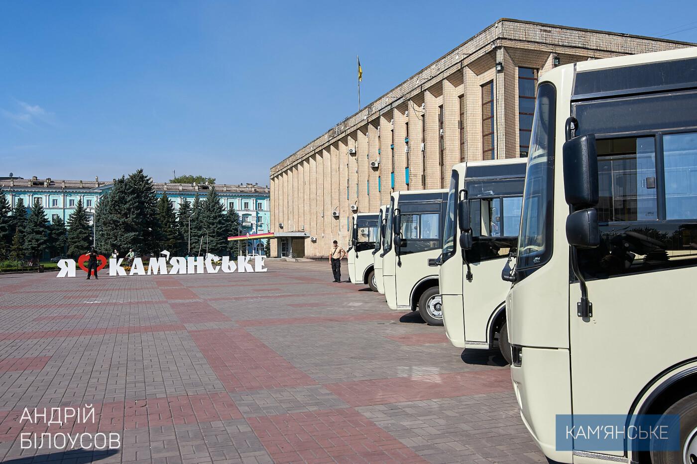 Новые «Атаманы» вышли на маршруты Каменского, фото-4