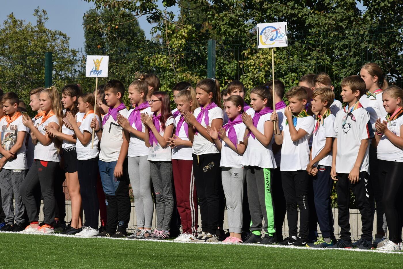 На День города двум школам Каменского подарили новые спортивные поля, фото-6