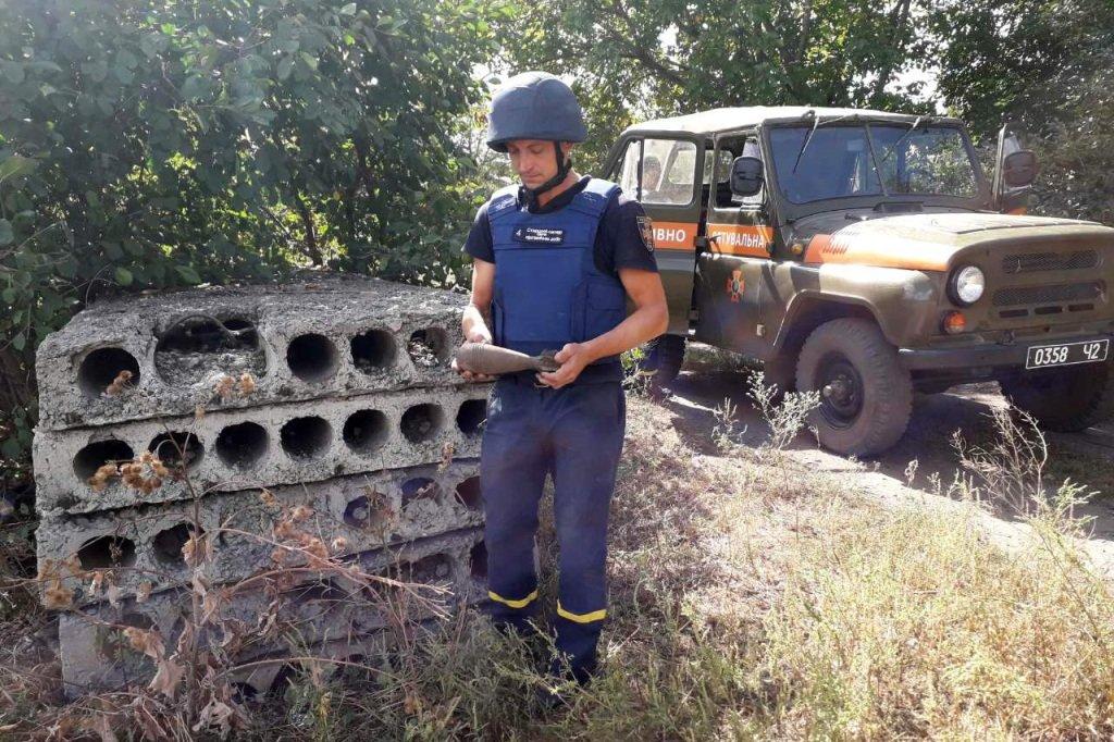 Под Каменским нашли и ликвидировали мину, фото-3