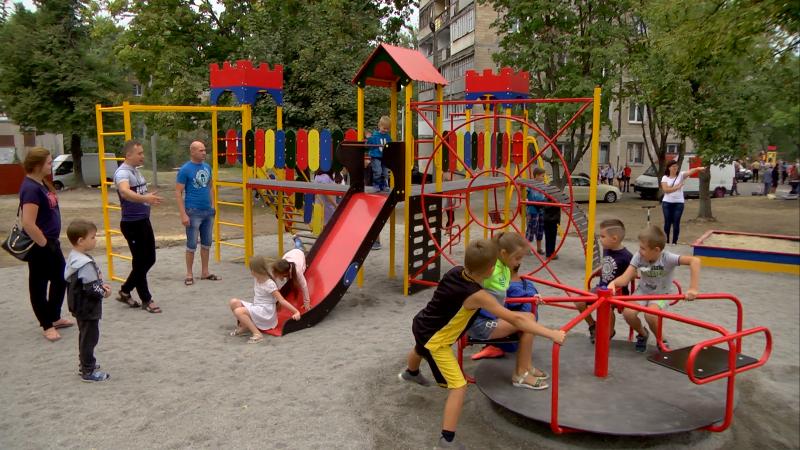 Детский сад, сквер и футбольные поля: в Каменском открыли ряд инфраструктурных объектов, фото-4