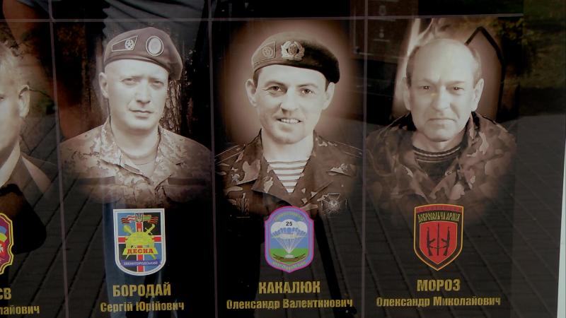 В Каменское приехал побратим погибшего воина, фото-3