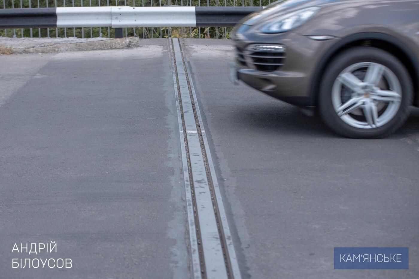 В Каменском продолжается ремонт деформационных швов на мосту , фото-3