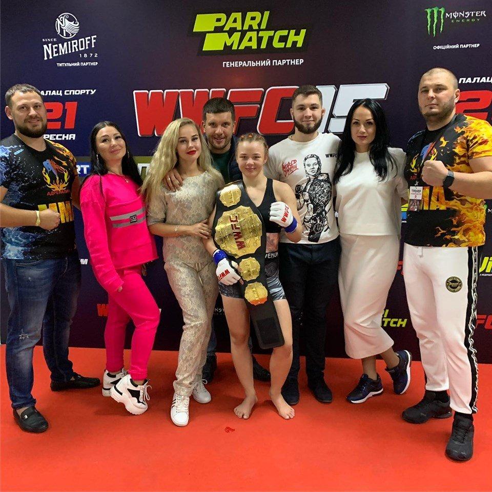 Каменская «Птица Феникс» вернула себе титул чемпионки мира по ММА, фото-3