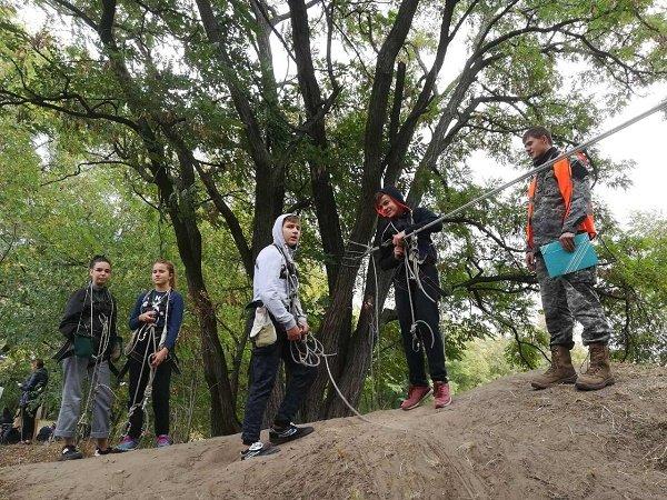 На левобережье Каменского прошел слет туристов-краеведов, фото-3