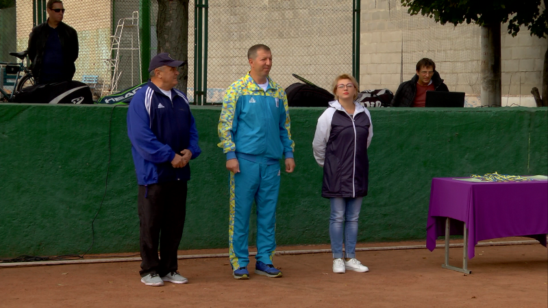 В Каменском разыграли юбилейный теннисный турнир памяти Аношкина, фото-1