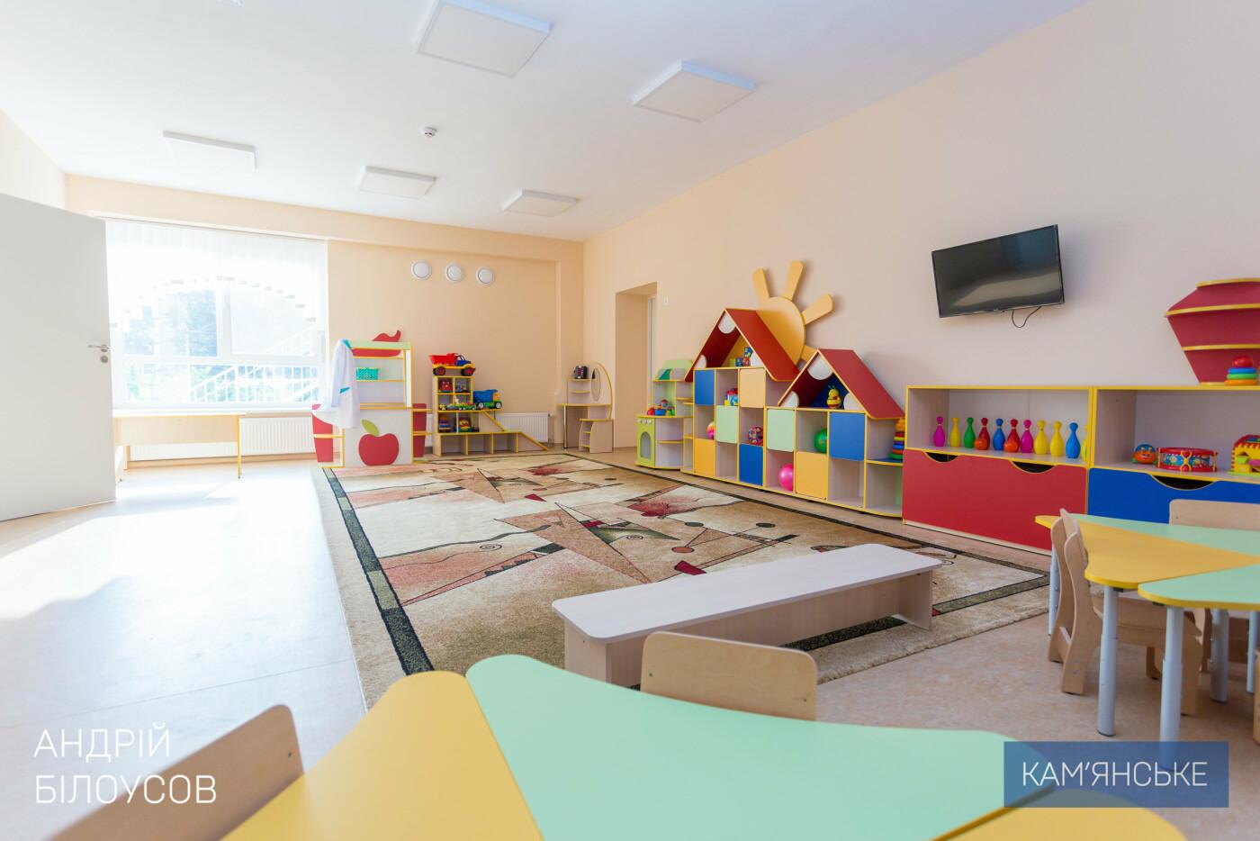 В Каменском на Черемушках открыли после реконструкции новый детский сад на 110 мест, фото-7