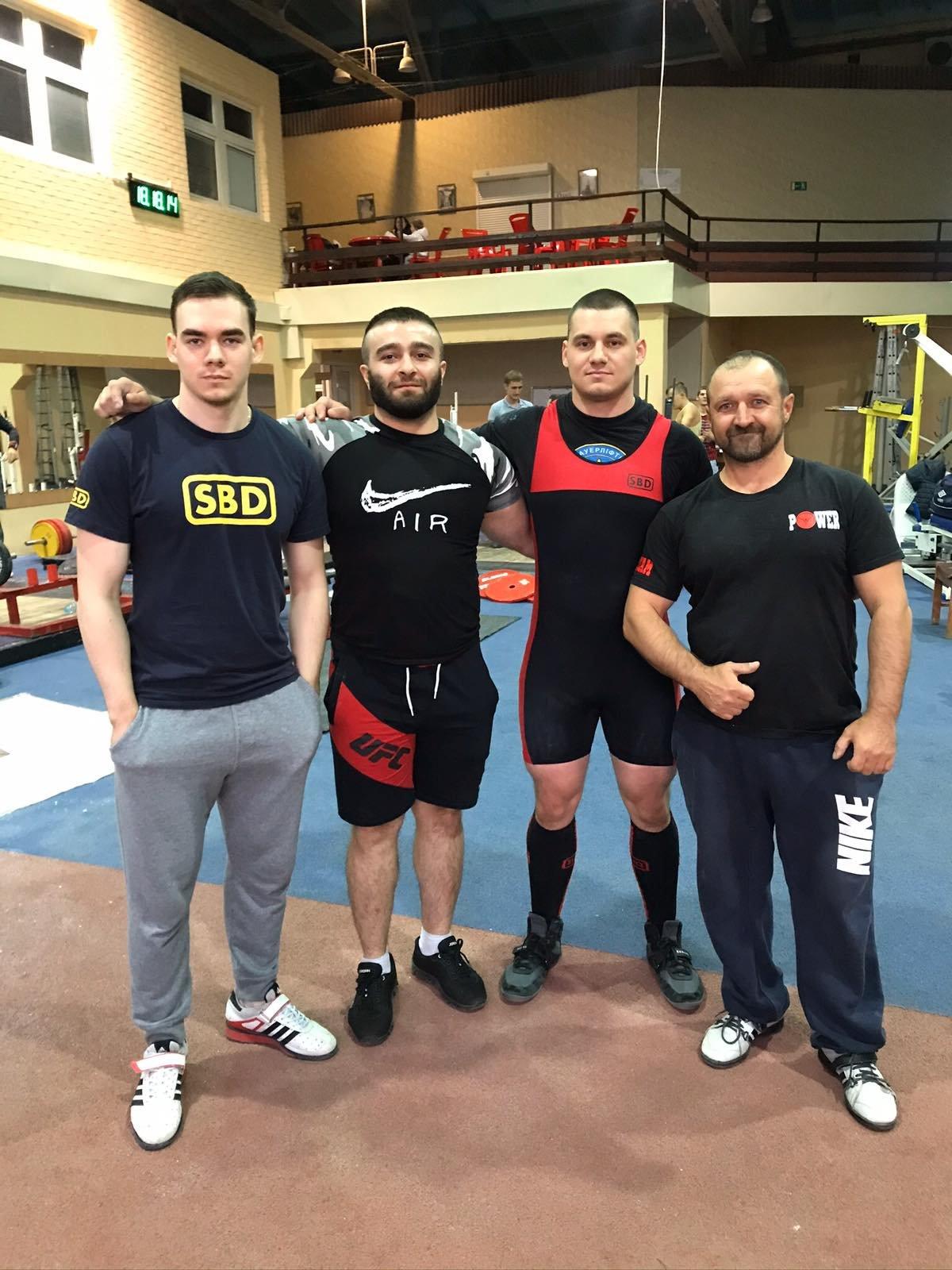 Каменчане стали чемпионами Украины по пауэрлифтингу, фото-1