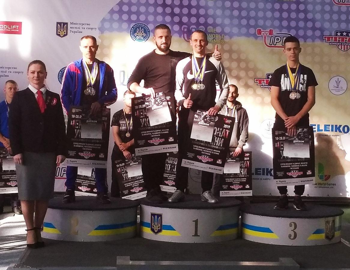 Каменчане стали чемпионами Украины по пауэрлифтингу, фото-6