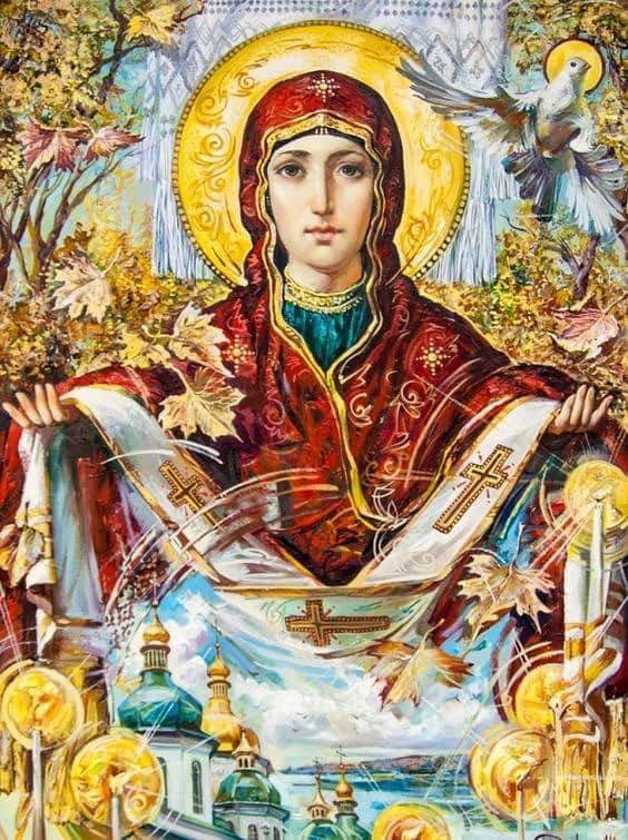План богослужений и мероприятий в каменской Казацкой церкви Святой Покровы, фото-1