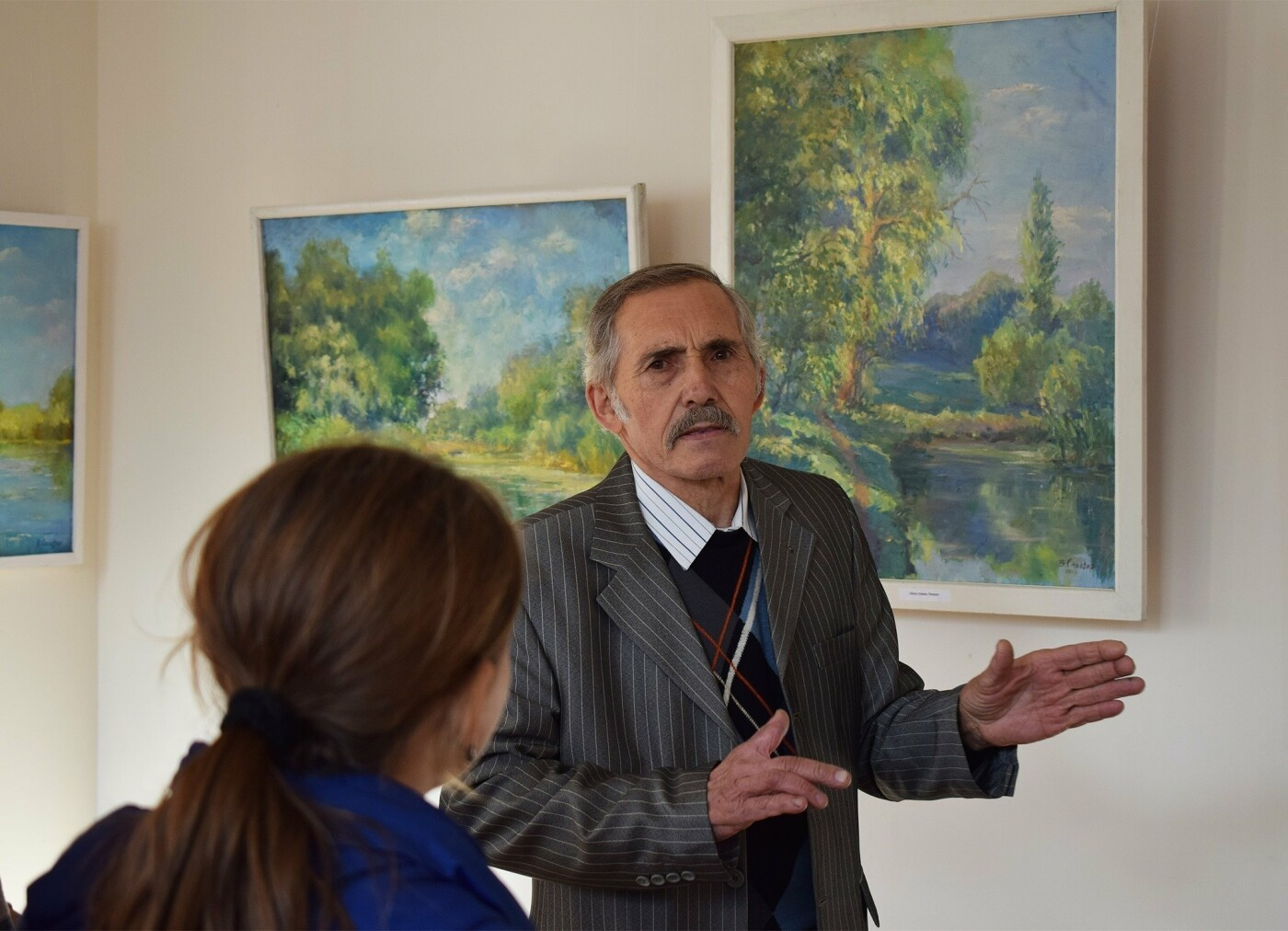 В Каменском открылась выставка для поклонников реализма, фото-5