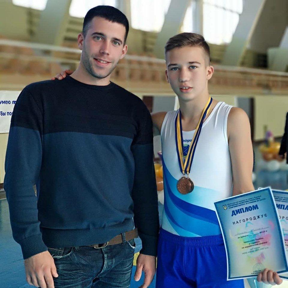 Каменские акробаты стали призерами чемпионата Украины , фото-1