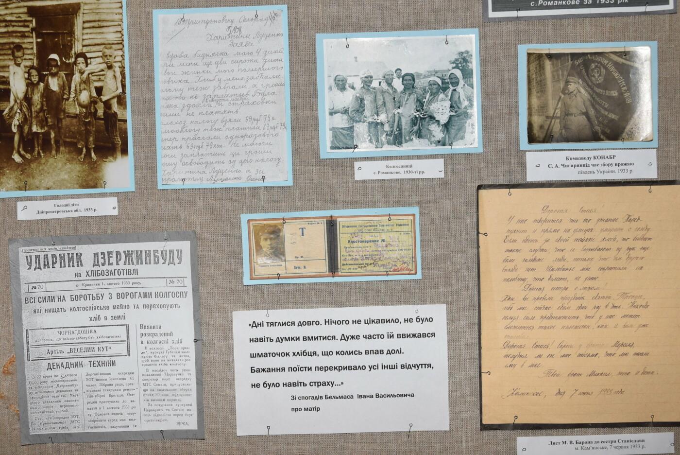 В Каменском вспоминали жертв голодомора 1932-1933 годов, фото-9