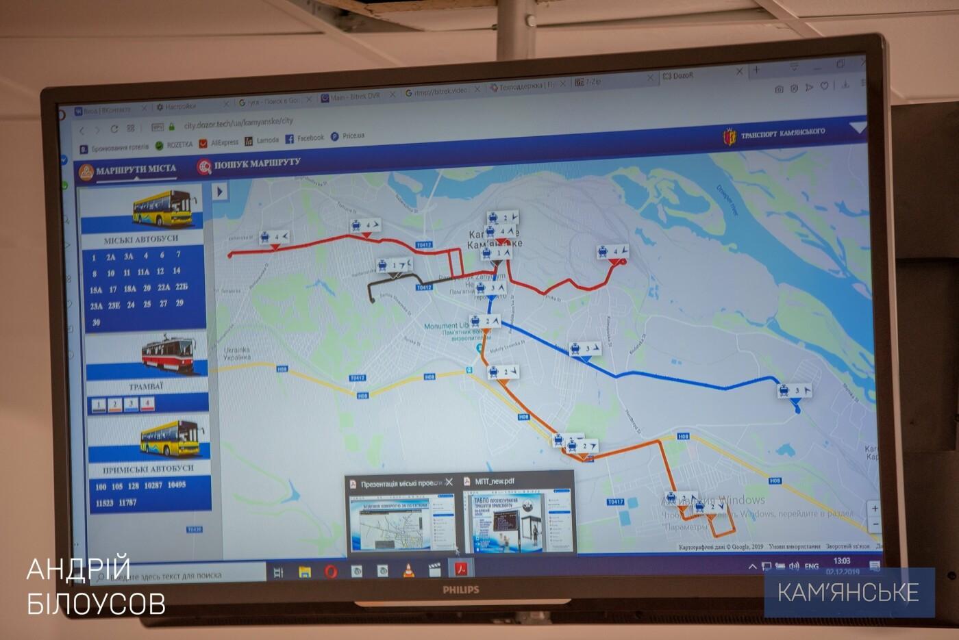 Общественный транспорт Каменского перевели на GPS-трекеры «Дозор-сити», фото-3