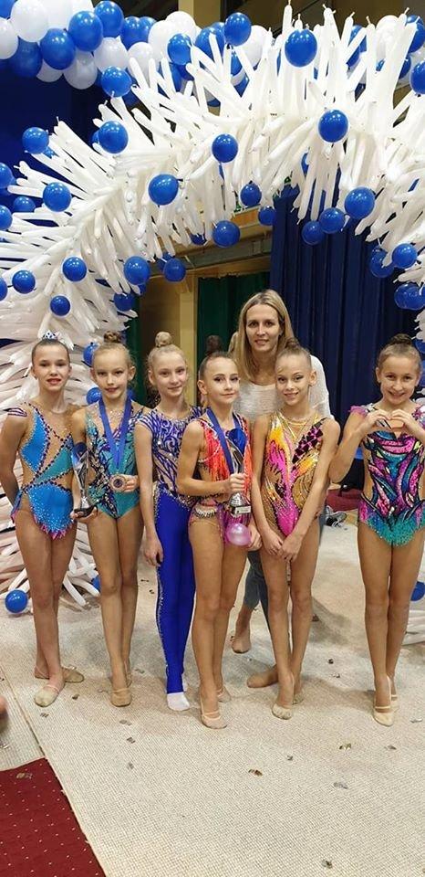 Каменские гимнастки стали призерами турнира во Львове, фото-2
