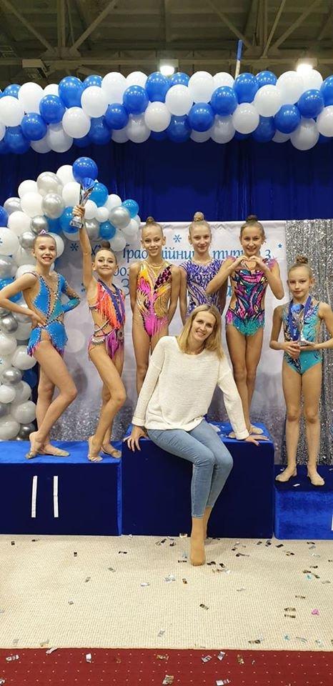 Каменские гимнастки стали призерами турнира во Львове, фото-1
