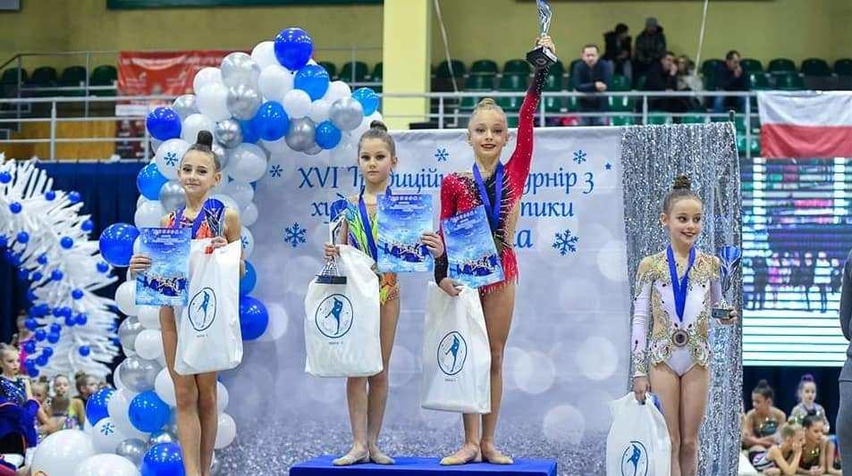 Каменские гимнастки стали призерами турнира во Львове, фото-3