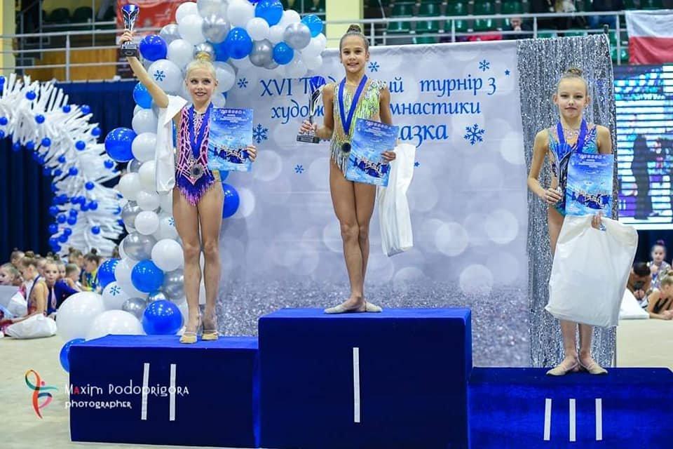 Каменские гимнастки стали призерами турнира во Львове, фото-4