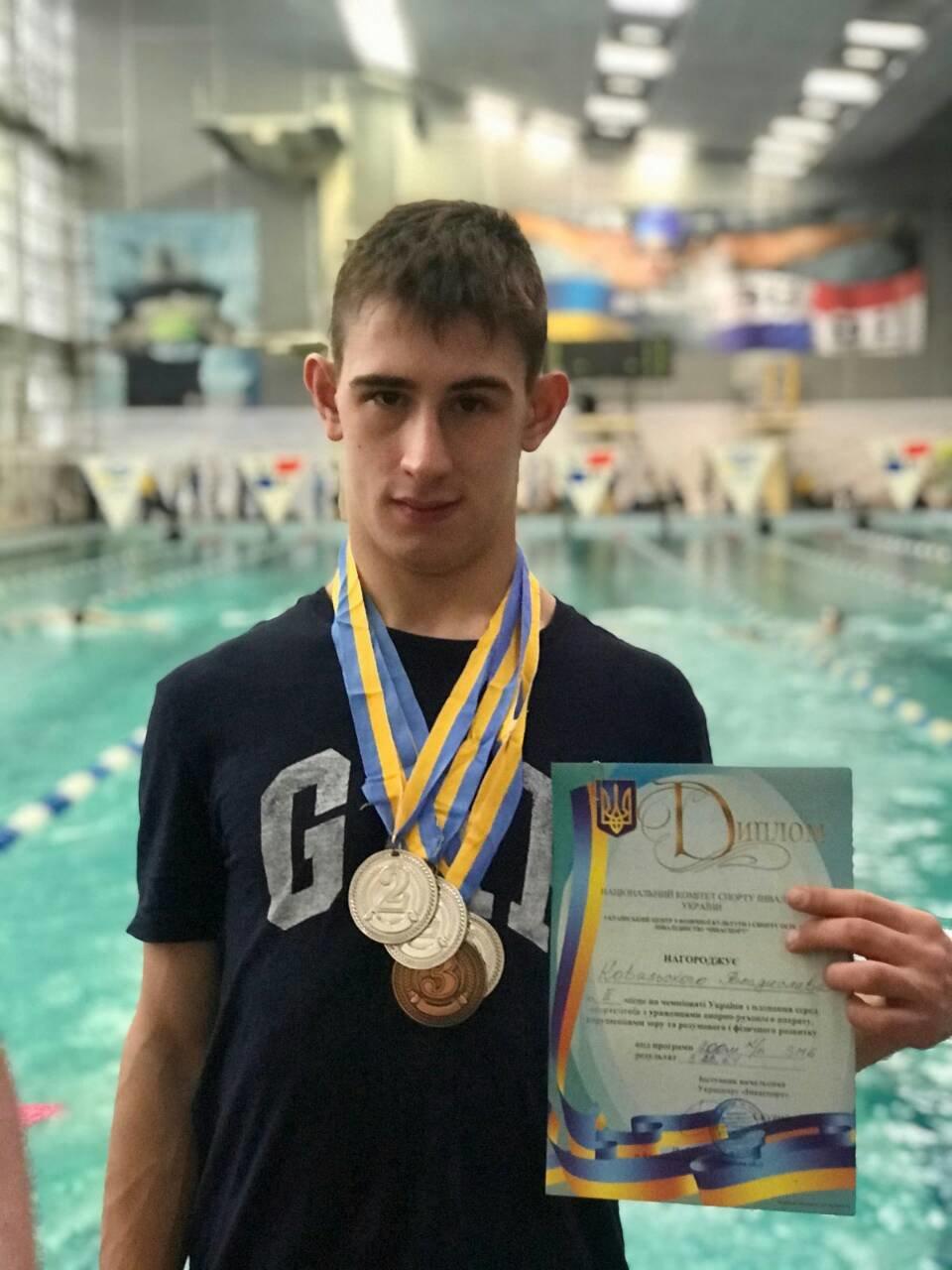 Пловец из Каменского стал призером чемпиона Украины, фото-2