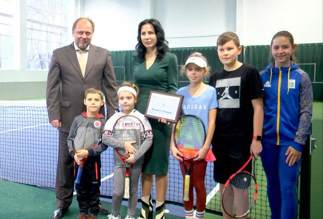 Почетного каменчанина внесли в Зал Славы украинского тенниса, фото-1