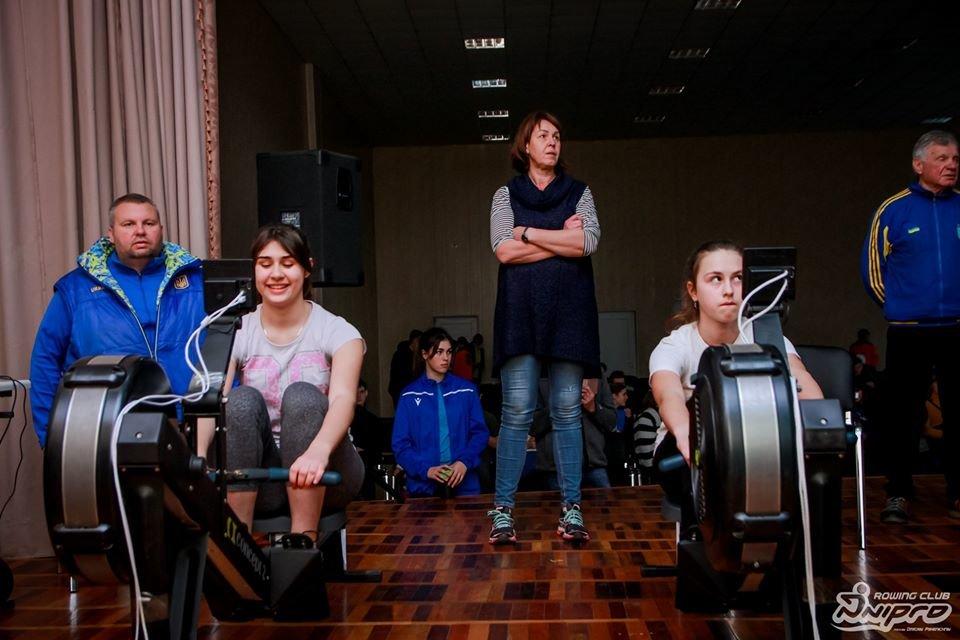 Каменские гребцы-академисты соревновались на эргометрах, фото-54