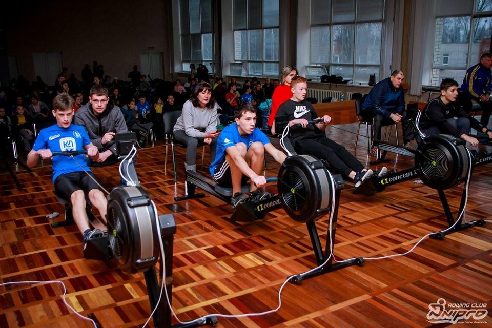 Каменские гребцы-академисты соревновались на эргометрах, фото-58