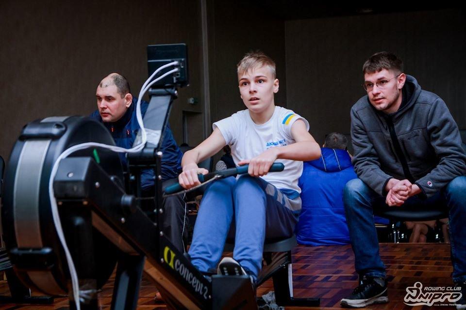 Каменские гребцы-академисты соревновались на эргометрах, фото-42