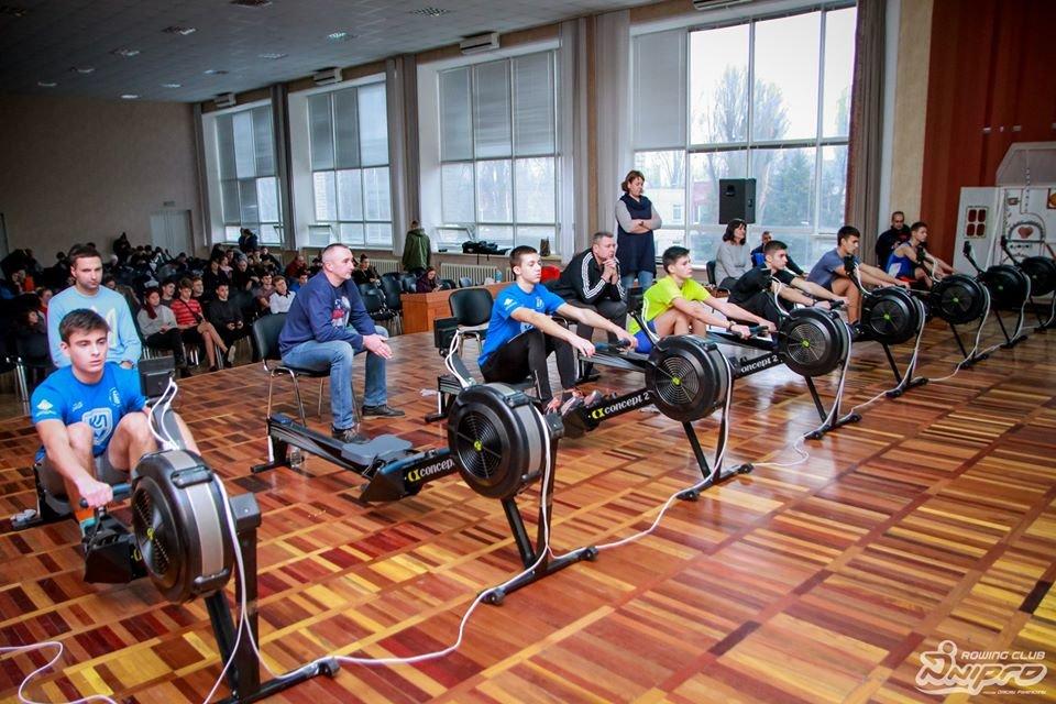 Каменские гребцы-академисты соревновались на эргометрах, фото-43