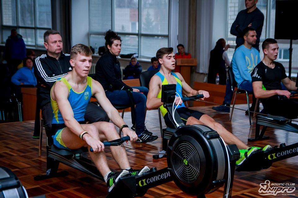 Каменские гребцы-академисты соревновались на эргометрах, фото-37
