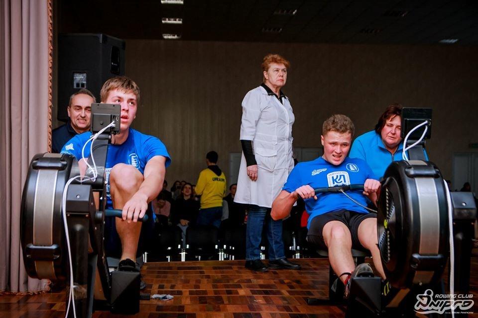 Каменские гребцы-академисты соревновались на эргометрах, фото-30