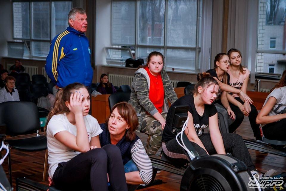 Каменские гребцы-академисты соревновались на эргометрах, фото-19