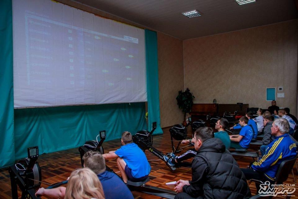 Каменские гребцы-академисты соревновались на эргометрах, фото-17