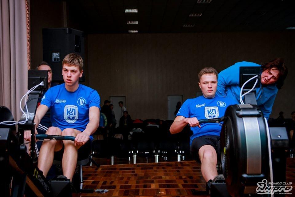 Каменские гребцы-академисты соревновались на эргометрах, фото-16