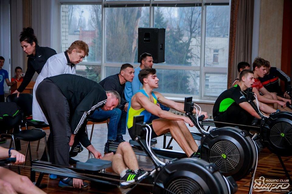Каменские гребцы-академисты соревновались на эргометрах, фото-8