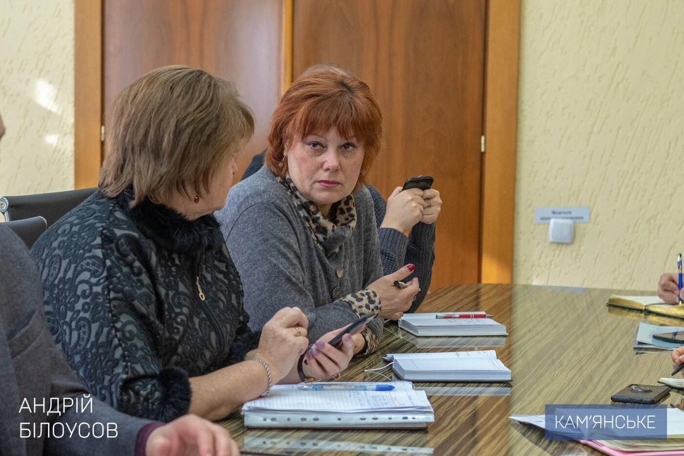 Мэр Каменского провел рабочее совещание по вопросу реконструкции школы №20, фото-2