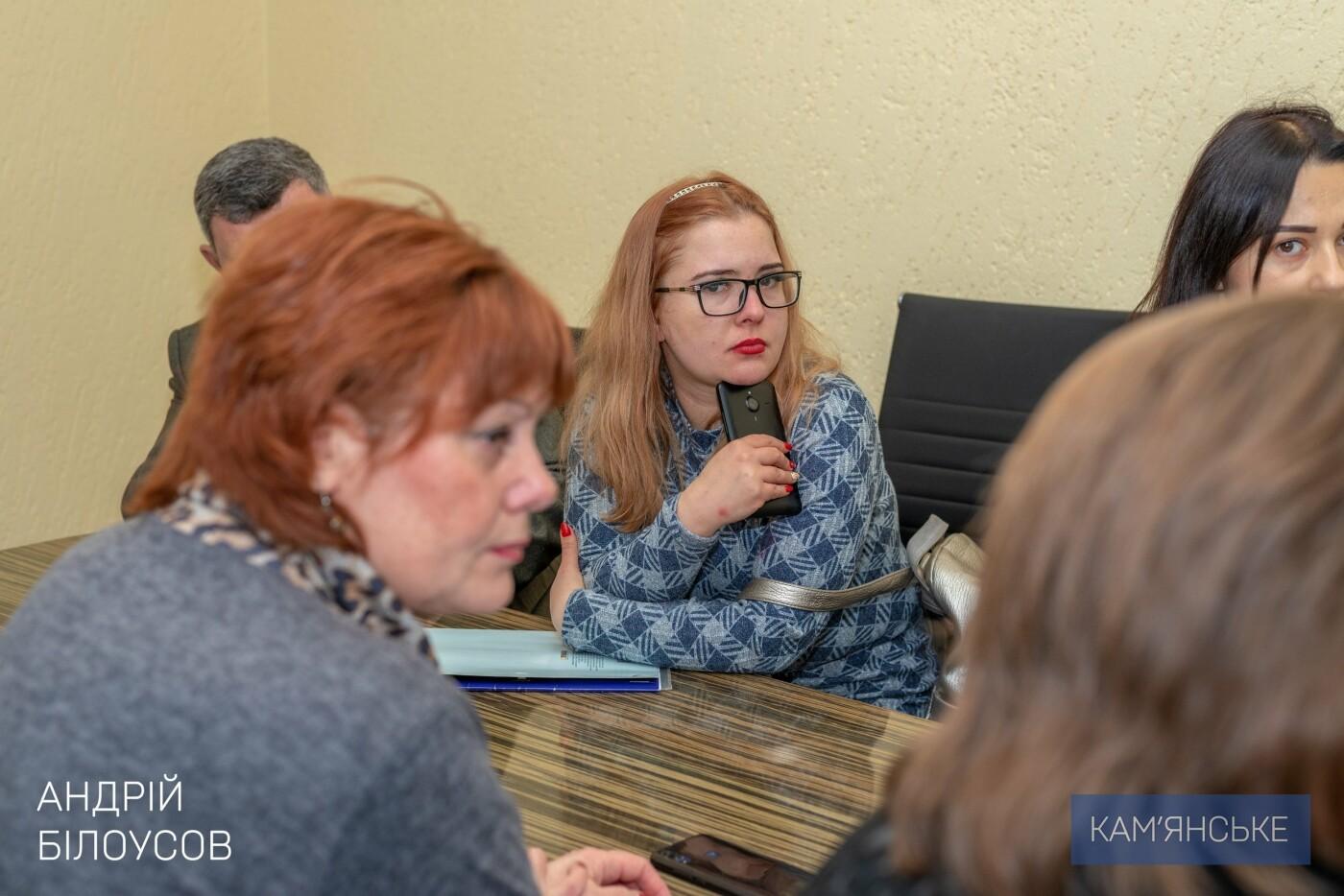 Мэр Каменского провел рабочее совещание по вопросу реконструкции школы №20, фото-1