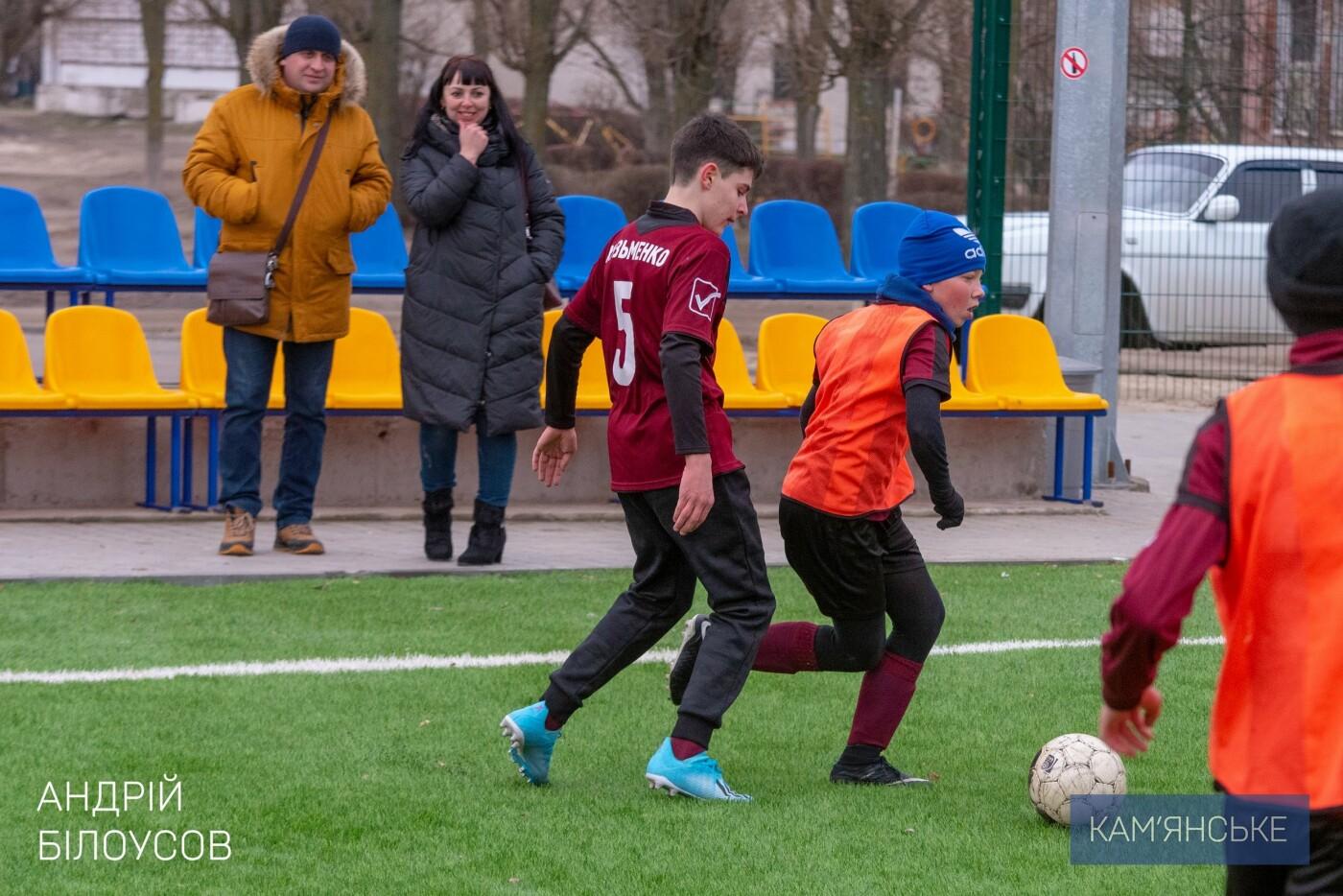 Мэр Каменского поздравил футбольную команду «Надія-Nova», фото-1