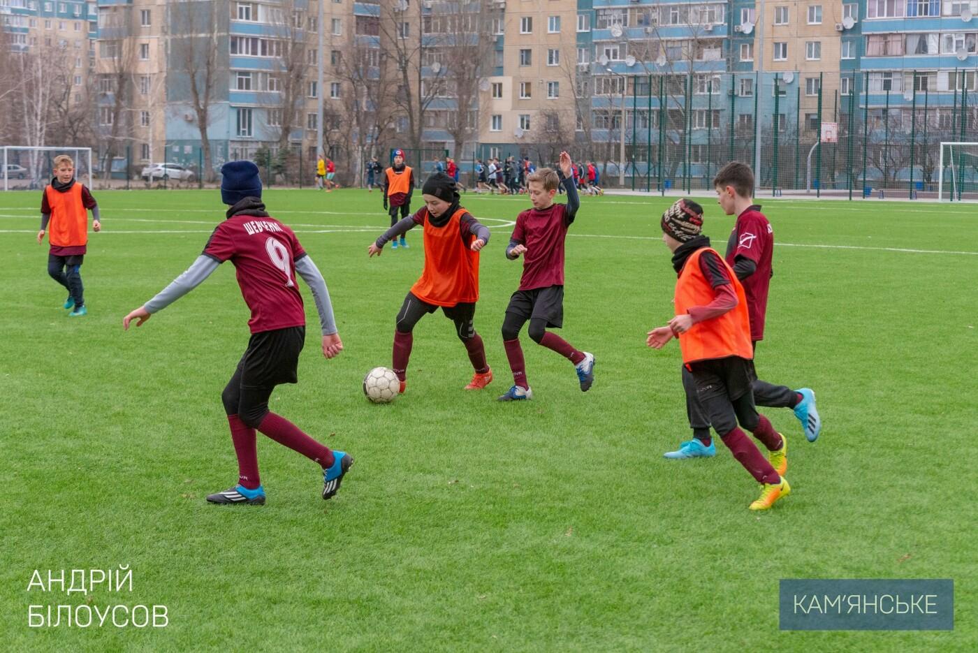 Мэр Каменского поздравил футбольную команду «Надія-Nova», фото-2