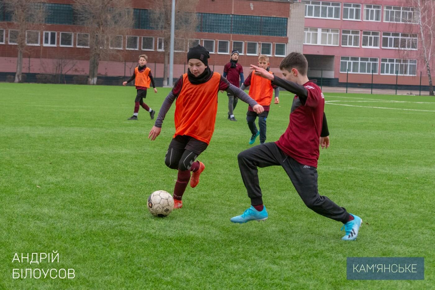 Мэр Каменского поздравил футбольную команду «Надія-Nova», фото-3