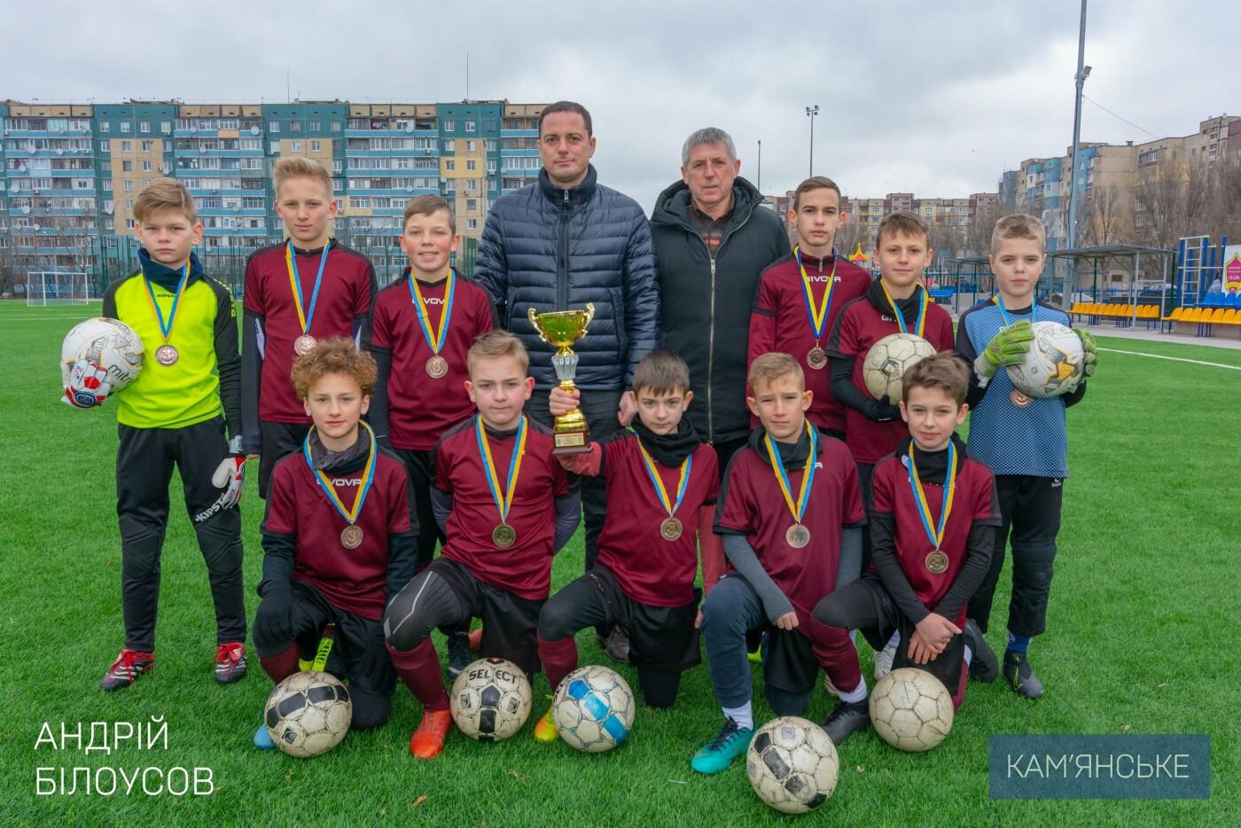 Мэр Каменского поздравил футбольную команду «Надія-Nova», фото-6