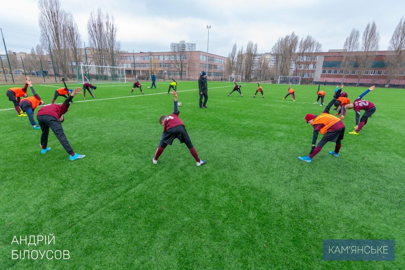 Мэр Каменского поздравил футбольную команду «Надія-Nova», фото-4