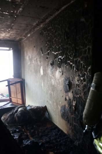 """В Каменском возле """"Украины"""" горела квартира, фото-1"""