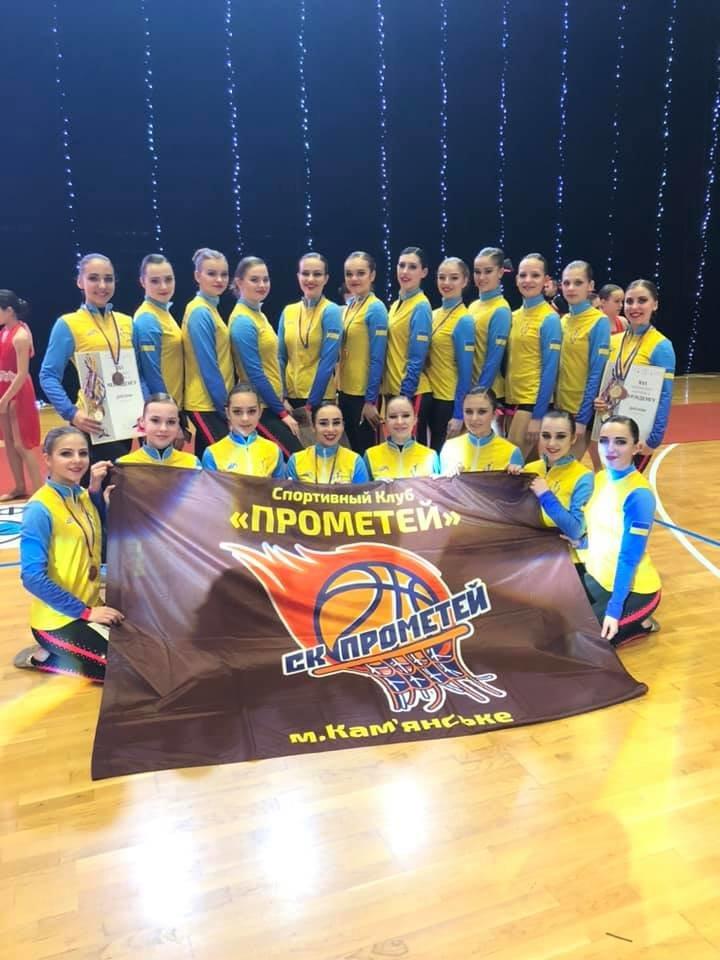 Каменчанки завоевали «золото» всеукраинских соревнований по черлиденгу, фото-3